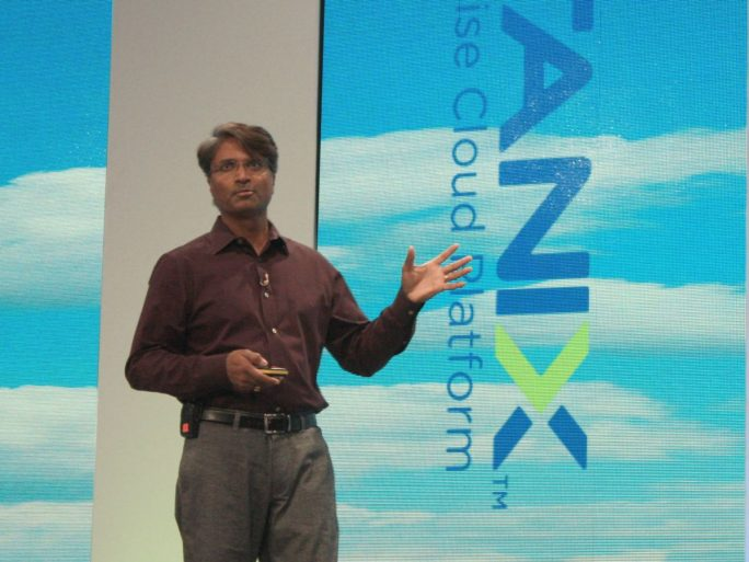 Sunil Potti, Chief Product and Development Officer bei Nutanix (Bild: ZDNet.de)