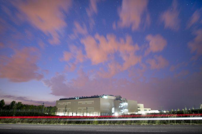 >Das Telekom-Rechenzentrum in Biere bei Magdeburg (Bild: Deutsche Telekom)