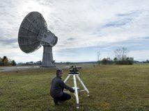 Internet per Satellit: DLR erzielt Weltrekord bei optischer Datenübertragung