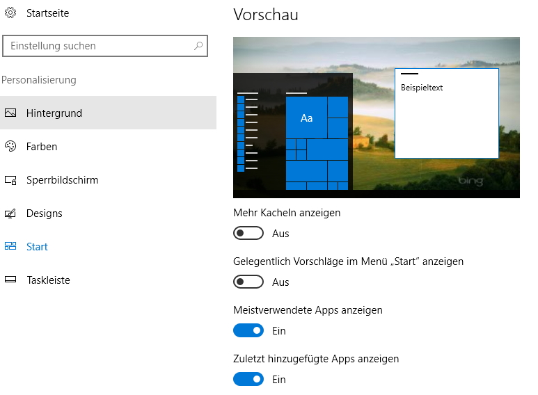 Windows 10: Oberfläche personalisieren | ZDNet.de
