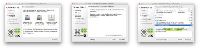 Clover-Installation (Bild: ZDNet.de)