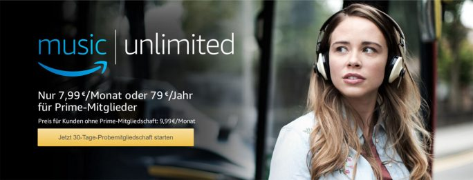 Amazon Music Unlimited (Screenshot: ZDNet.de)
