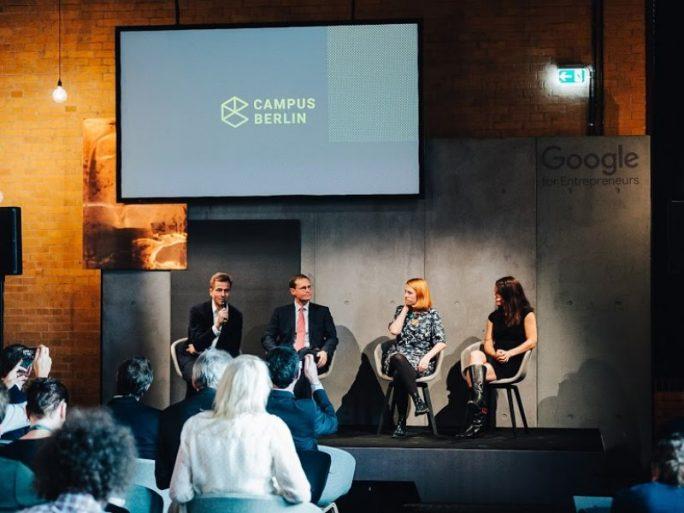 Pressekonferenz mit Google-Manager Philipp Justus und dem Regierenden Bürgermeister (Bild: Christoph Wehrer/Google)
