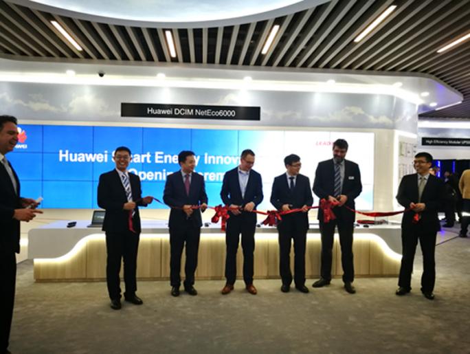 Eröffnung von Huaweis Smart Energy Innovation Center in Nürnberg (Bild: Huawei).