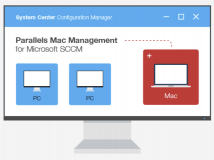 Parallels Mac Management für Microsoft SCCM integriert Apple DEP