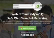 Mozilla verbannt Erweiterung Web of Trust