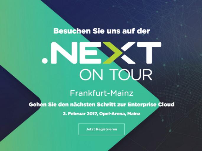 .NEXT ON TOUR: Jetzt registrieren. (Bild: Nutanix)