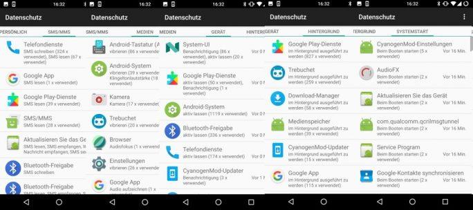 Nexus 5 CyanogenMod 14.1 auf Basis von Android 7.1.1 Nougat (Bild: ZDNet.de)