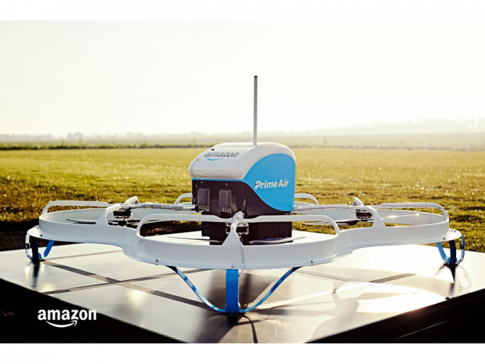Amazon Prime Air Lieferdrohne in der Private Beta (Bild: Amazon)