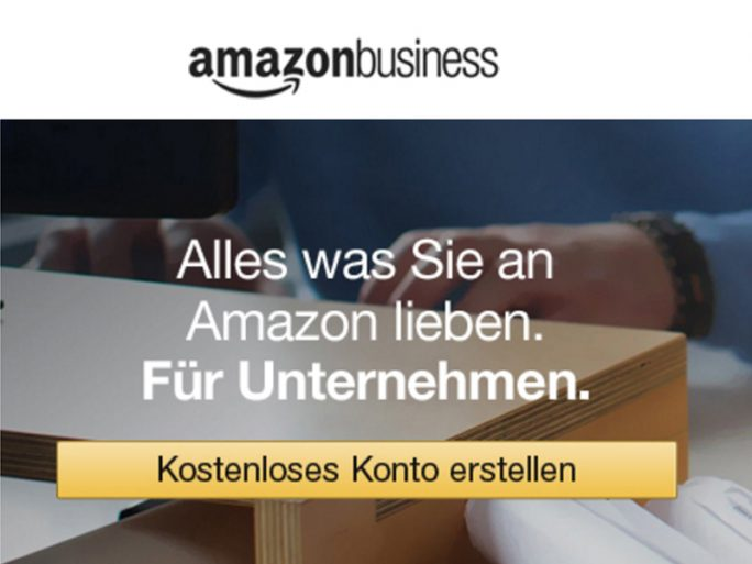 Amazon Business (Screenshot: ZDNet.de)