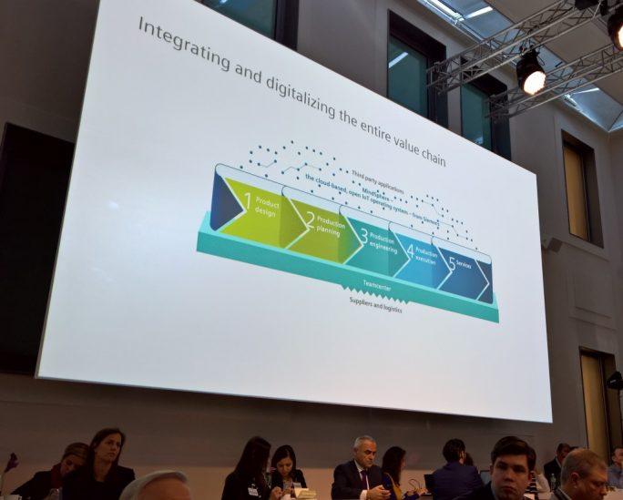 Der Design- und Fertigungsprozess wird systematisch in digitalen Daten abgebildet, wobei nachgelagerte Stufen wieder mit früheren Stadien rückgekoppelt werden, um so das Produkt kontinuierlich zu verbessern (Bild: Rüdiger)