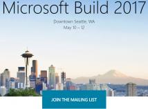 Microsoft kündigt Entwicklerkonferenz Build für Mai 2017 an