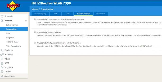 Durch das Deaktivieren der automatischen Einrichtung auf Fritz!Boxen lässt sich die Sicherheit von AVM DSL-Routern etwas verbessern (Screenshot: Thomas Joos).