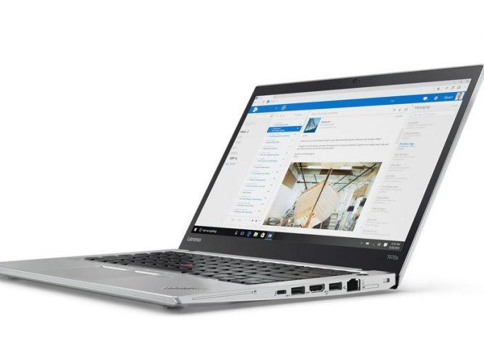 ThinkPad T 470s ist auch in der Farbe Silber erhältlich (Bild: Lenovo).