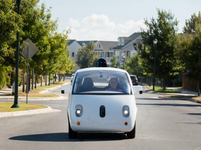 Prototyp eines autonomen Fahrzeugs (Bild: Waymo)