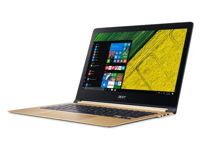Acer Swift 7 (SF713-51) (Bild: Acer)
