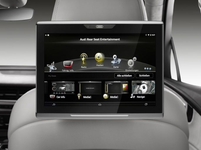 Audi Q7: In-Vehicle-Infotainment-System (Bild: Audi)