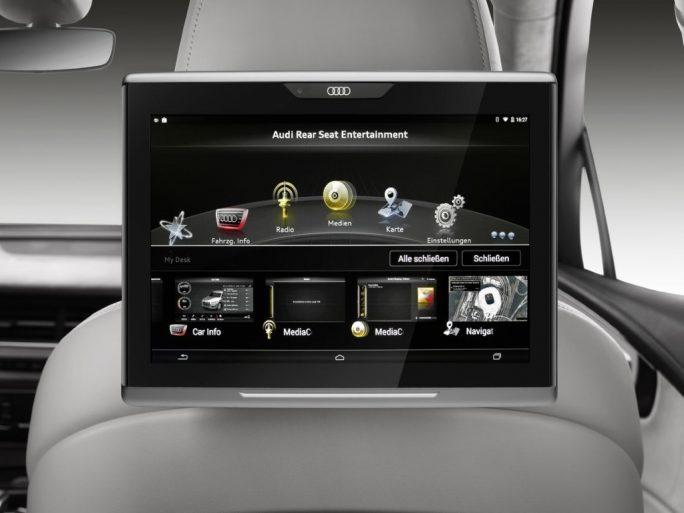 Audi Q7: In-Vehicle-Infotainment-System (Bild: Audi)