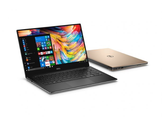 Dell XPS 13 Kaby Lake: Rose-Gold (Bild: Dell)