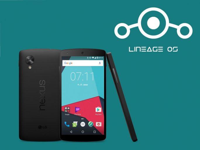 LineageOS: Nexus 5 (Bild: ZDNet.de)