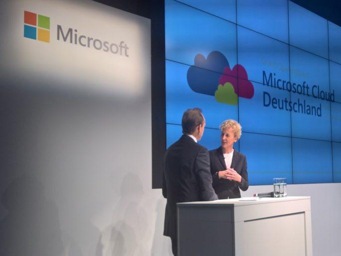 """""""Es geht um Vertrauen!"""", Sabine Bendiek, Vorsitzende der Geschäftsführung, Microsoft Deutschland (Bild: Rüdiger)"""