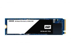 WD Black PCIe SSD 256 GByte (Bild: WD)
