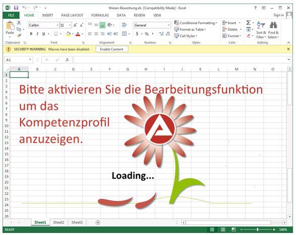 Der GoldenEye-Schadcode ist in einer Excel-Datei versteckt (Screenshot: CheckPoint).