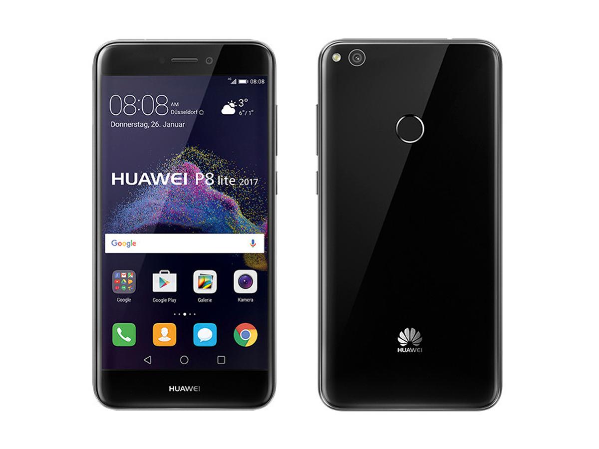 Huawei bringt 5,2-Zoll-Smartphone P8 lite 2017 mit Fingerabdrucksensor für 239 Euro