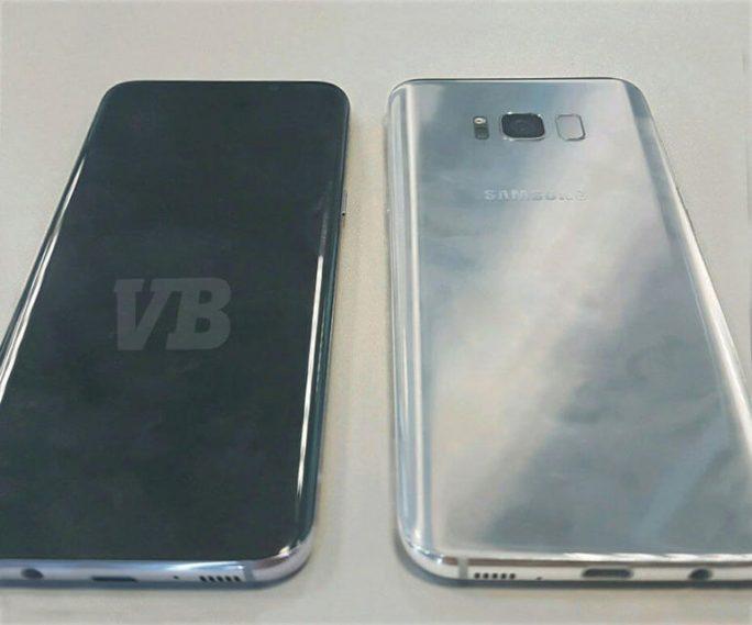 Samsung verzichtet beim Galaxy S8 offenbar auf einen physischen Home-Button und verlagert den Fingerabdruckscanner auf die Rückseite. Das legt zumindest ein Foto des Leakers Evan Blass nahe, das das kommende Samsung-Smartphone zeigen soll (Bild: VentureBeat/Evan Blass).