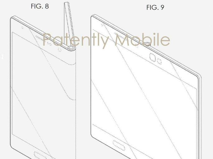 Samsung hält zahlreiche Patente rund um faltbare Displays (Bild: Samsung / USPTO).
