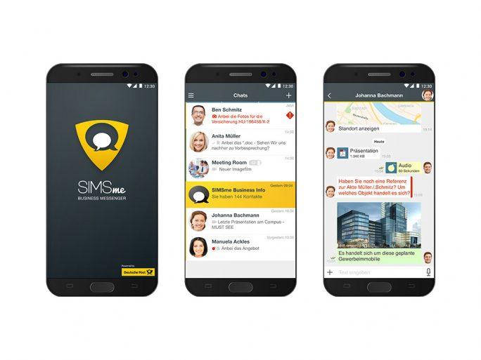 SIMsme Business (Bild: Deutsche Post)
