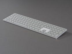 Die unverbindliche Preisempfehlung für die Surface Tastatur liegt bei 109,99 Euro (Bild: Microsoft)
