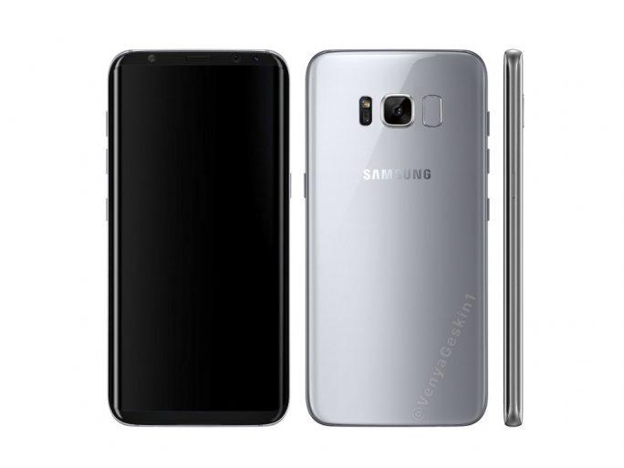 Galaxy S8: Rendering (Bild: Benjamin Geskin)