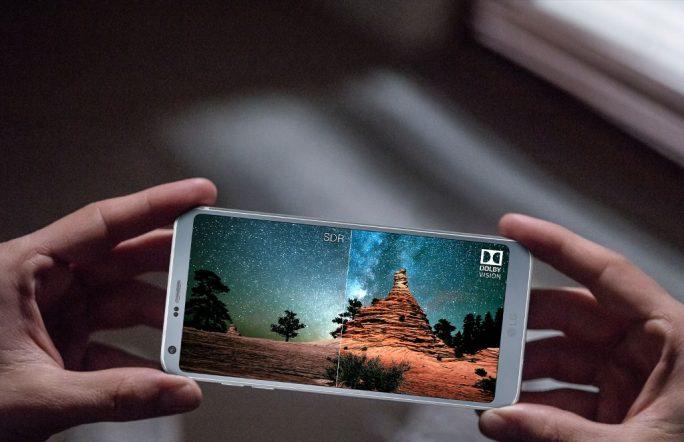 LG G6: Dolby Vision und HDR 10 (Bild: LG)