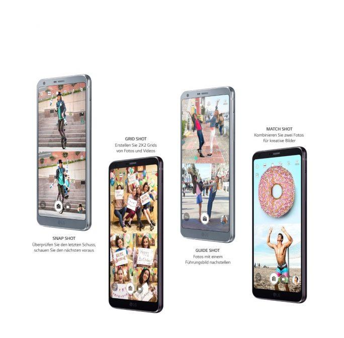 LG G6: Square Camera (Bild: LG)