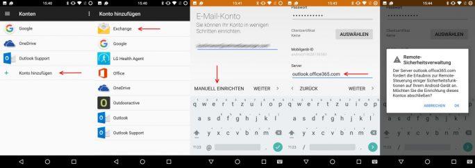 Outlook-365-Konto unter Android einrichten (Bild: ZDNet.de)