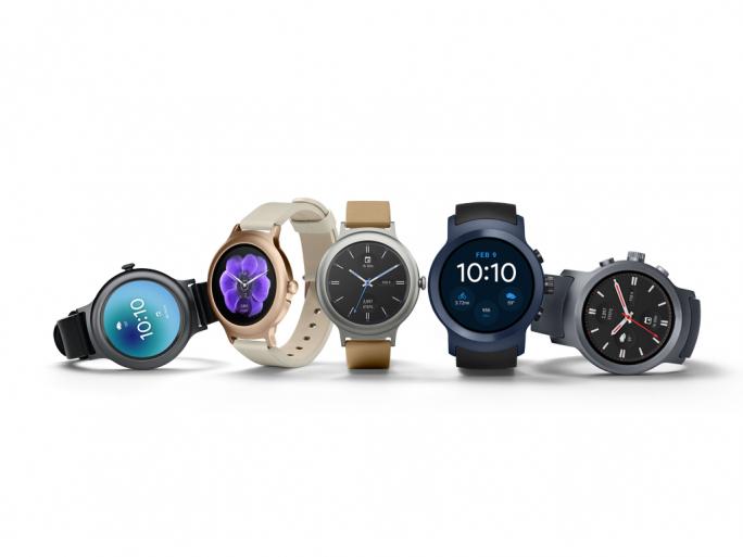 Smartwatches von LG mit Android Wear 2.0 (Bild: Google)