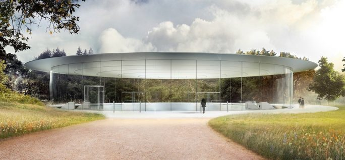 Apple Park: Steve Jobs Theater (Bild: Apple)