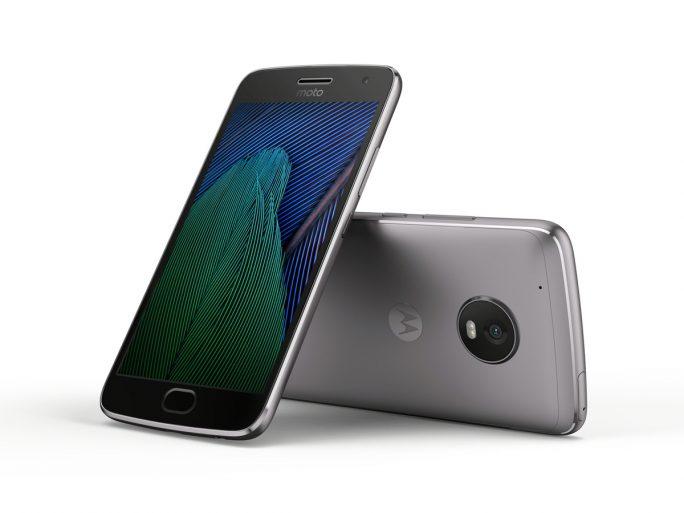 Moto G5 Plus in Lunar Gray (Bild: Lenovo/Motorola)