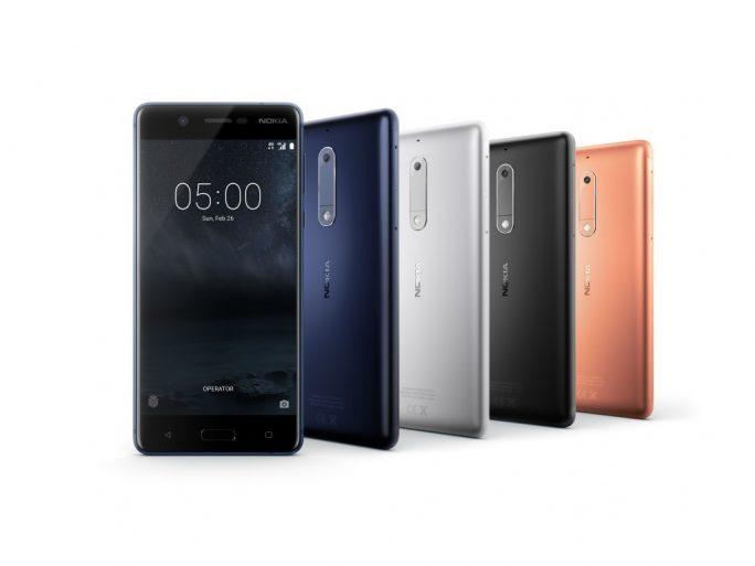 Nokia 5 (Bild: HMD Global)