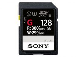 SD-Speicherkarte Sony SF-G128 (Bild: Sony)