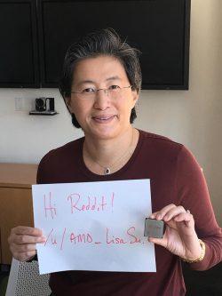 AMDs Chefin Lisa Su bei Reddit (Bild: AMD)