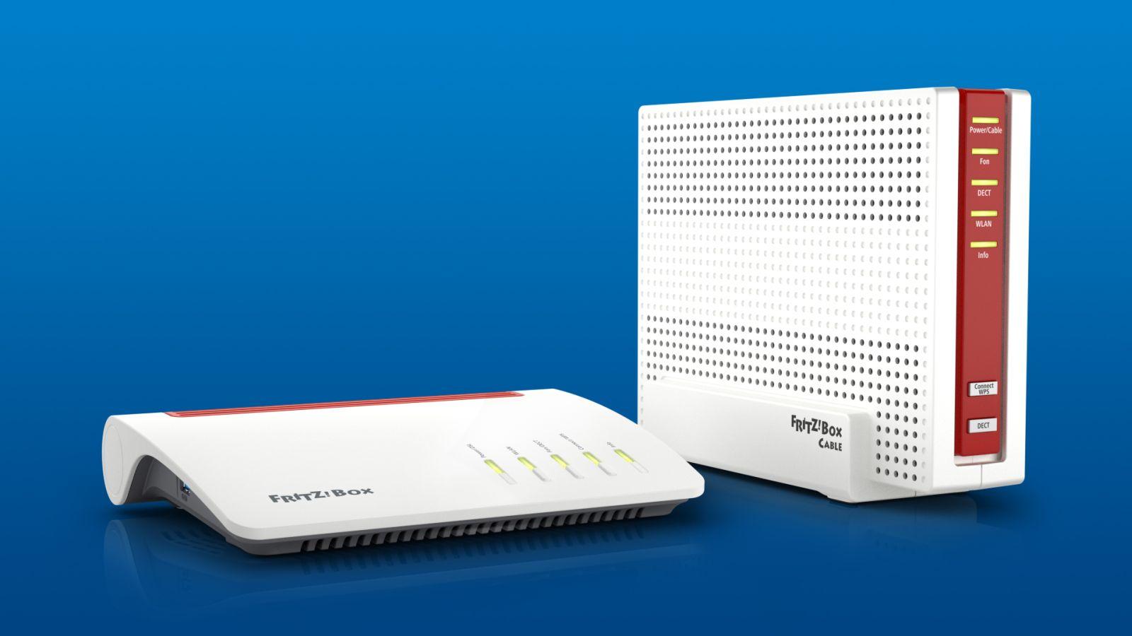 avm stellt fritzbox  und fritzbox  cable vor
