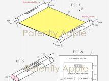 Apple patentiert Mobilgerät mit aufrollbarem Display