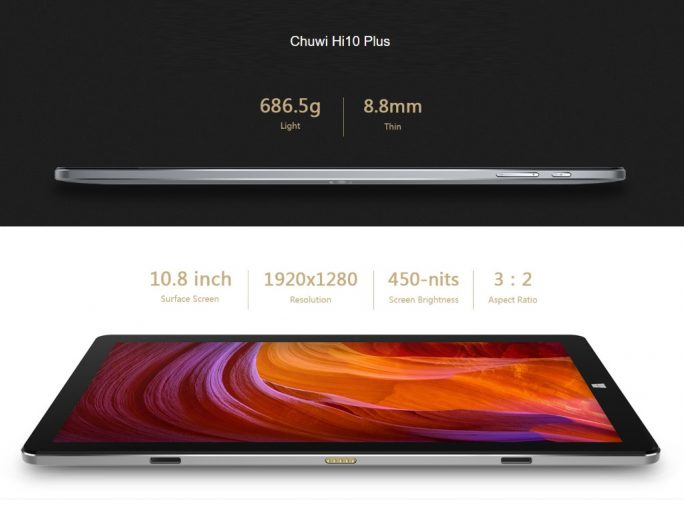 Chuwi Hi10 Plus: Features (Bild: Chuwi)