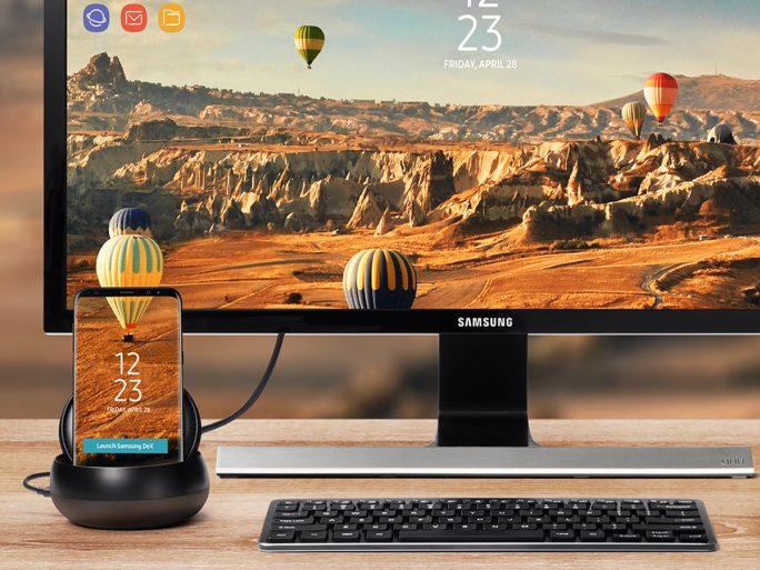 DeX untersützt per VDI-Lösung auch den Zugriff auf virtuelle Windows-Maschinen (Bild: Samsung).