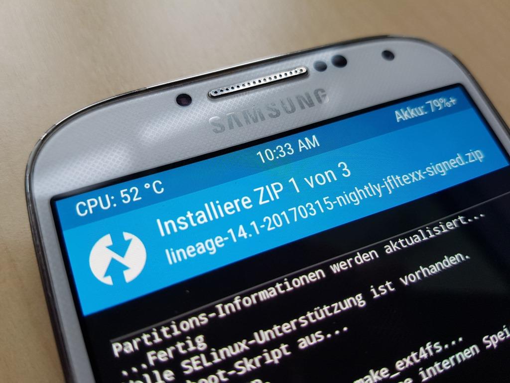 Galaxy S4: Update auf Android 7 1 1 mit LineageOS | ZDNet de