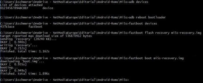 Xiaomi MI 5s: TWRP installieren (Bild: ZDNet.de)