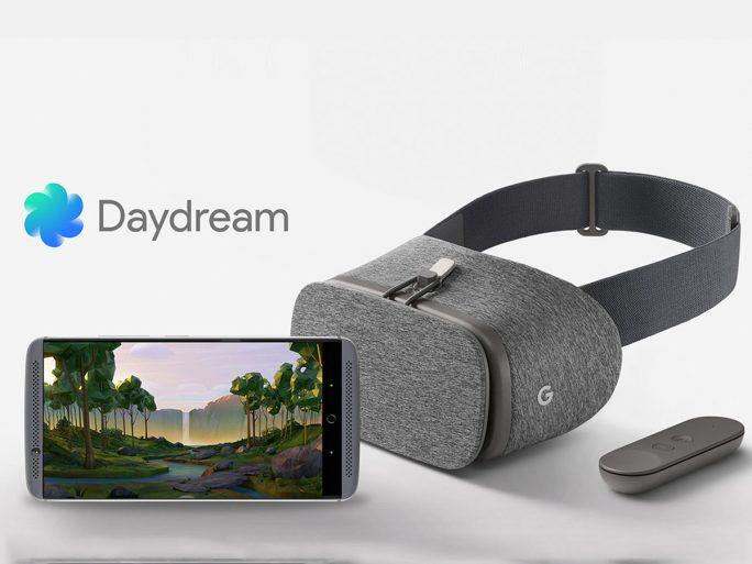 ZTE Axon 7 und Daydream (Bild: ZTE)