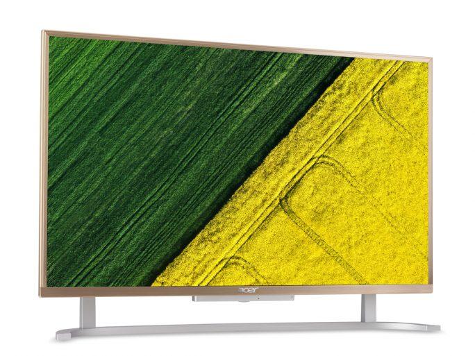 Acer Aspire C22 in Gold (Bild: Acer)